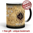 Harry Potter Mug Mischief Managed Magic Marauders map Unique Birthday Present