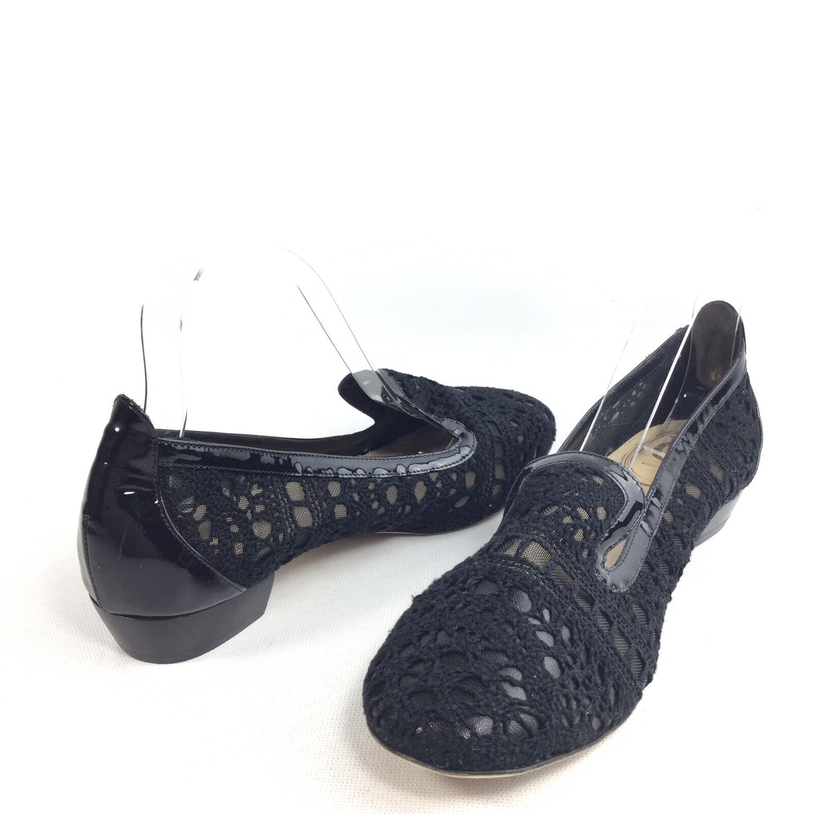 Vince Vince Vince Camuto Signature Womens Size 7.5 B Black Loafers Slip On shoes. 9be055