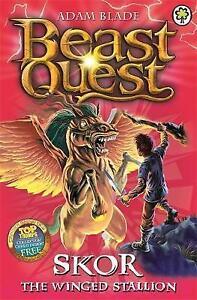 Skor-the-Winged-Stallion-Series-3-Book-2-Beast-Quest-Blade-Adam-Very-Good