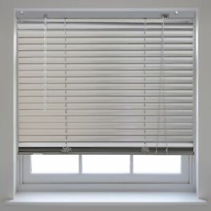 Details About Silver Aluminium Venetian Blinds Window Home Office Blind New