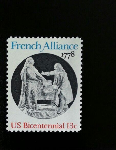 1978 13c French Alliance, 200th Anniversary Scott 1753