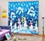 3D Snowflake 0131Blockout Photo Curtain Printing Curtain Drapes Fabric Window UK