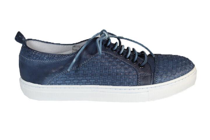 Pantofole da uomo YAB leather sneakers S/S 2016 sneakers in pelle intrecciata P/E 2016