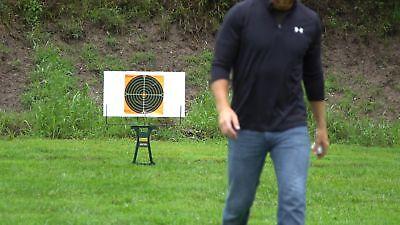 SHOOTING Range TARGET STAND Gun Rifle Portable Collapsible Large Board Holder