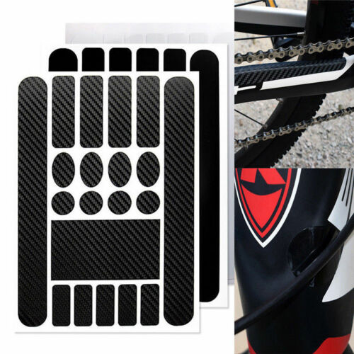 1X Bike Chainstay Frame Protective Paster Scratch Protector Bicycle Sticker New
