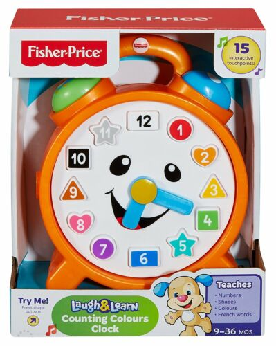 Fisher CDK06 Laugh And Learn Counting Colours Clock