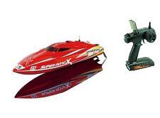 Rennboot Speedboot Super Mono X Brushless 45+km/h 2.4 GHz /11,1 V / L 42cm / NEU