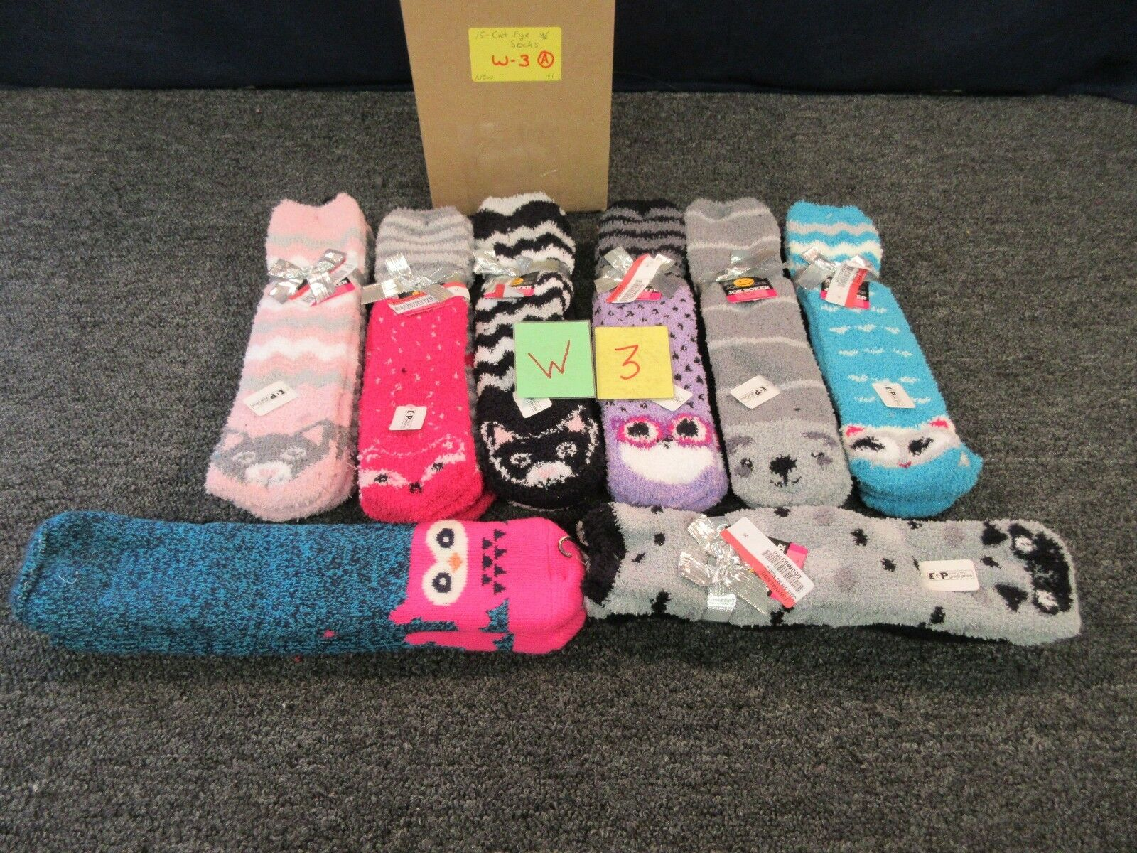 15 JOE BOXER WOMEN SOCKS SLIPPERS ANIMAL COZY CLOTHING 4-10 WINTER COLD BULK LOT