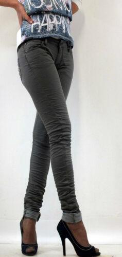 PLEASE Jeans Donna Vita bassa skinny 5 tasche P21ECF84U charcoal slim women