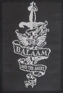 BALAAM-AND-THE-ANGEL-Old-OG-Vtg-1980-s-Woven-Sew-On-Patch-not-badge-pin-shirt