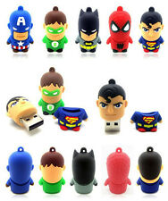 4GB 8GB 16GB 32GB cartoon warriors model usb 2.0 flash memory stick pen drive