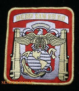 MCRD SAN DIEGO CA PATCH MARINE Boot Camp PIN UP GRADUATION GIFT DI US MARINES