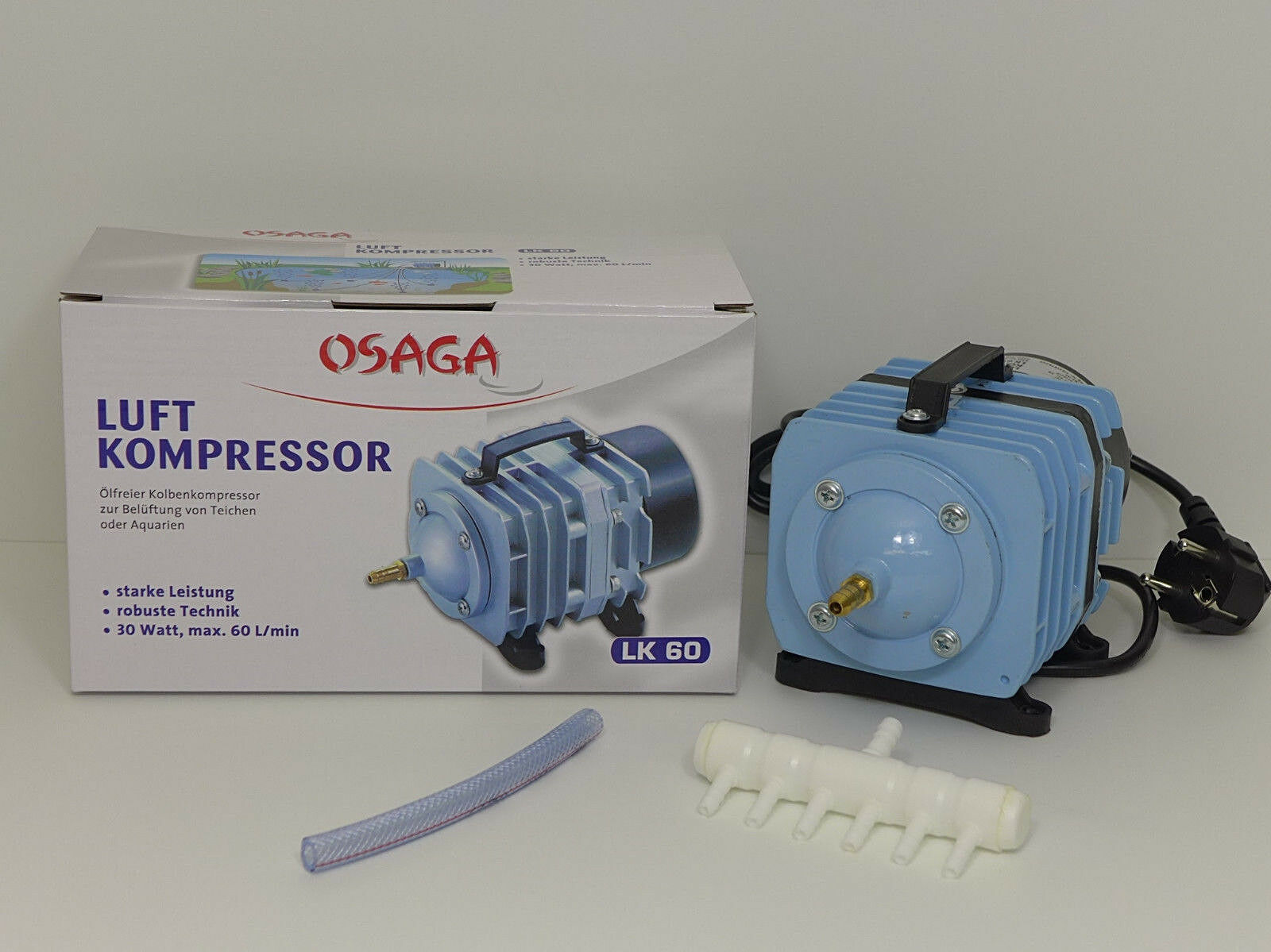 GISPO Ersatzmembrane für AquaForte V-60 oder OSAGA MK 60