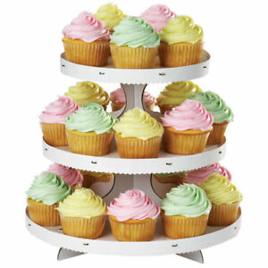 Wilton-Cupcakes-STAND-Mini-Cakes-Desserts-Treats-Personalize-Disposable-Display