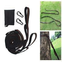 2pcs X Adjustable Hanging Hammock Tree Strap 1000kg Heavy Duty Extension Strap