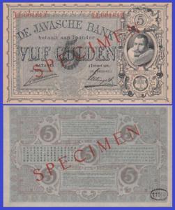 NETHERLANDS INDIES 500 GULDEN 1930 UNC Reproduction