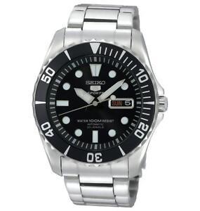 official photos 9477e a0e90 Seiko 5 Sports SNZF17J1 Wrist Watch for Men