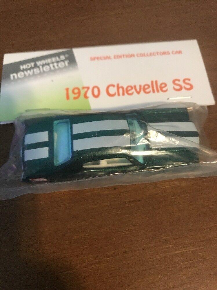 Boletín De Hot Wheels Bolsa Con 8th 8th 8th nacionales 2008 1970 Chevelle Ss verde blancoo Str 98124b