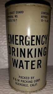 VINTAGE-US-COAST-GUARD-034-EMERGENCY-DRINKING-WATER-034-SEALED-FULL