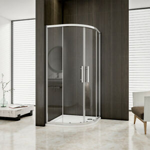 Image Is Loading Aica 900x900mm Quadrant Shower Enclosure Corner Cubicle 6mm