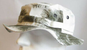 RECCE Hat Boonie Boonie German Army Snow Camo - Made in Germany -  faa88d15ff3