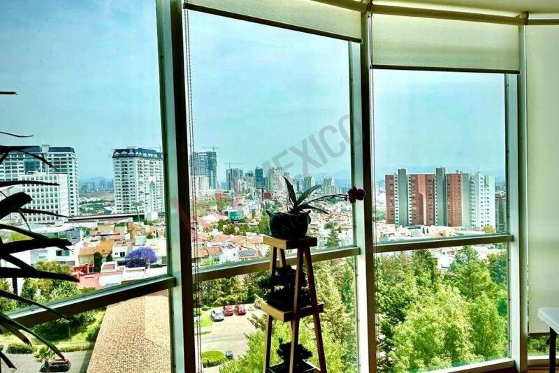 Departamento en Venta 177m2 en Residencial Sauces Interlomas 3 recamaras vista panoramica