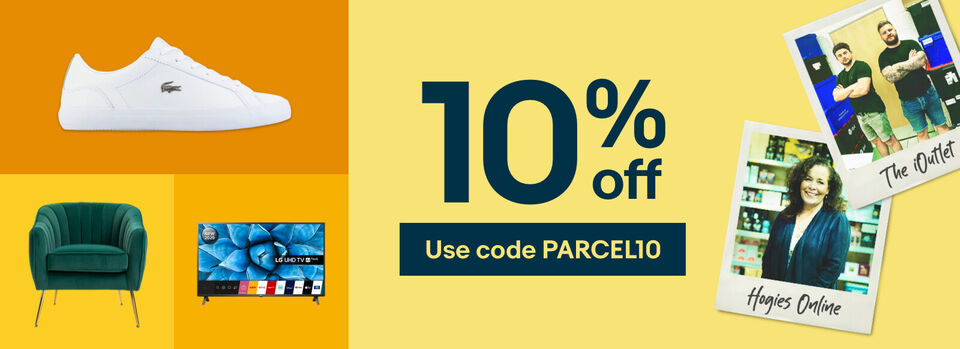Use code PARCEL10 - Get it for less with 10% off!