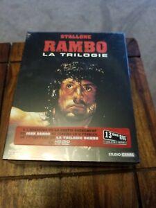 Rambo-Trilogy-HD-DVD-Rare-French-Import-La-Trilogie