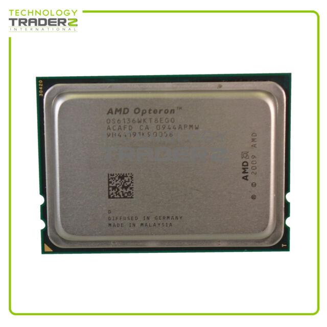OS6136WKT8EGO AMD Opteron 6136 8-Core 2.40GHz 12M 6.4GT/s 115W Processor