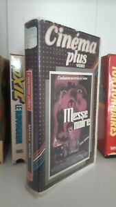 Evilspeak-Messe-noir-Eric-Weston-NTSC-french-VHS-mint-uncut-big-box
