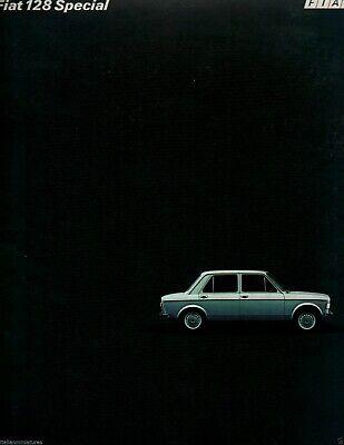 Fiat 128 Special Swedish Svezia Brochure Prospekt Catalog 1976 Ref. 4376 22 Page
