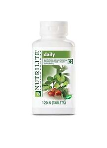 """Amway NUTRILITE daily 120 """"Best Deal with Best Price"""" mfd - 2017"""