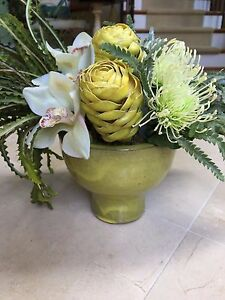 Ndi floral natural decorations ginger cymbidium protea in ceramic image is loading ndi floral natural decorations ginger cymbidium protea in mightylinksfo