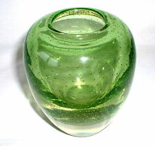 Sehr schöne  WMF Perlora kristall vase  Zierglas Höhe 14,5 cm
