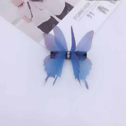 Colorful Hair Clip Barrettes Girls Butterfly Women Cartoon Hairpin Accessories