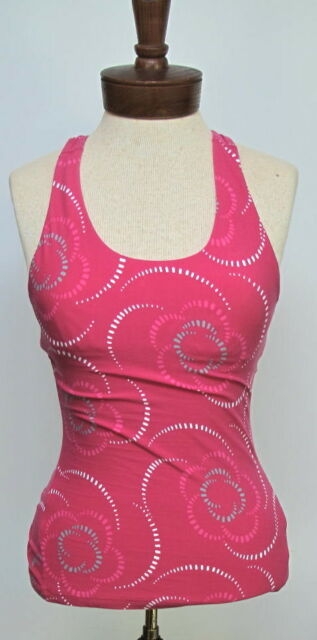 b662d7ed3efb93 LUCY Women s LucyPower Pink Racer-Back Workout Tank Top XS