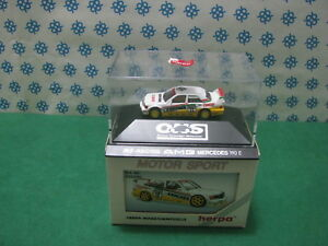 Vintage-MERCEDES-BENZ-190-E-AMG-034-MS-Racing-034-H0-1-87-Herpa-M-Sport