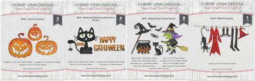 Maker/'s Movements Cat Witch/'s Cheery Lynn Combo ~ HALLOWEEN COMBO SET Jack-o