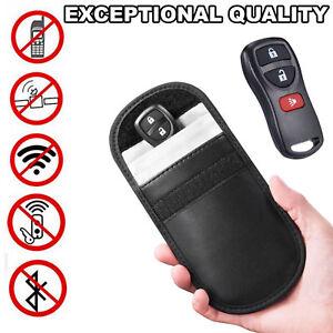 Keyless-Entry-Car-Key-Fob-Signal-Blocker-Guard-Protector-Faraday-Bag-Pouch-Black