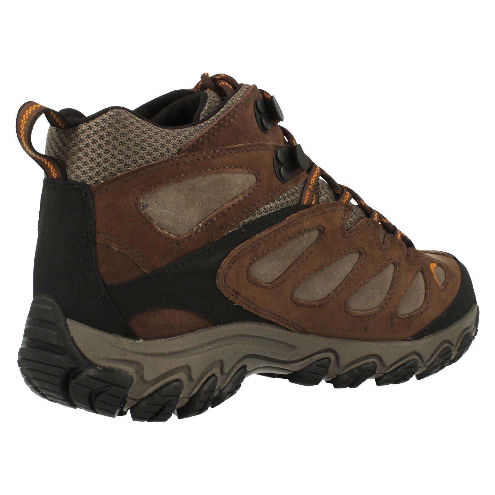 Merrell 'Pulsate Mitte' Herren Braun Wasserdicht Wandern Wandern    Trail Schuhe 119360