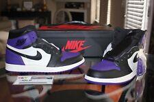 the latest b9719 631ea Deadstock Air Jordan Retro 1 OG Court Purple Sizes 10.5, 11, 11.5   12