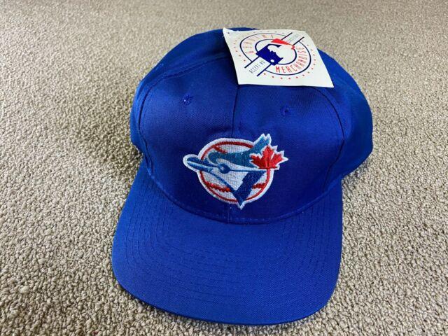 Toronto Blue Jays Hat Snapback Competitor Cap Black Blue Baseball jersey VTG