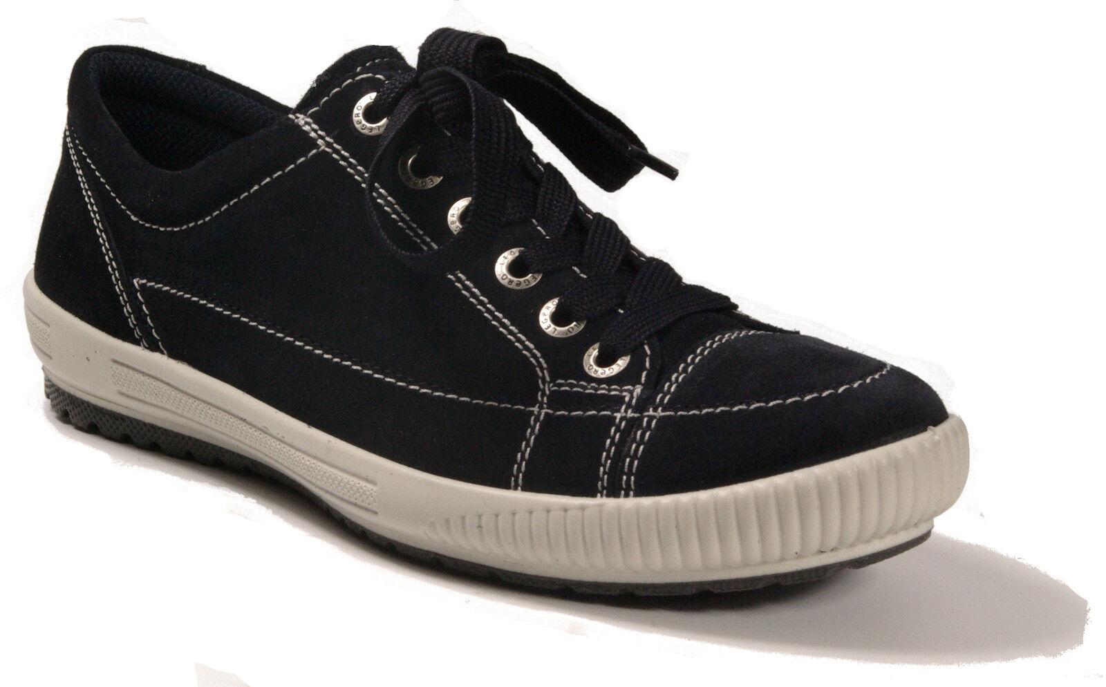 Legero Scarpe Blu scarpe da ginnastica Scarpe Basse normalissime Cambio in Pelle Plantare Nuovo