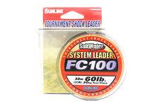 9308 Sunline Saltwater Special System Shock Leader Fluorocarbon FC 30m 80lb