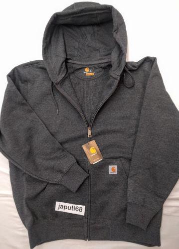 Full Zip Sweatshirt DSSM-614 Carhartt 100614 Men/'s Paxton HEAVYWEIGHT