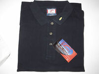 Sealed Men's100% Cotton Solid Navy Polo Shirt Xxxl Work,casual,dress Nice