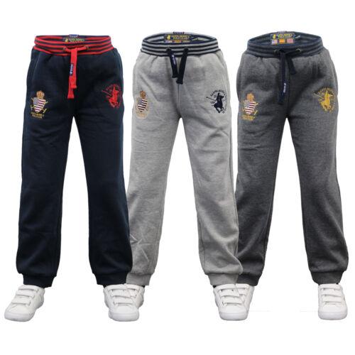 RAGAZZI Bottoms Santa Monica KIDS Running Jogging Pantaloni Pantaloni In Pile Invernale Nuovo