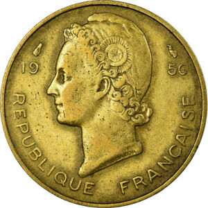 704836-Muenze-French-West-Africa-10-Francs-1956-S-Aluminum-Bronze-KM-6