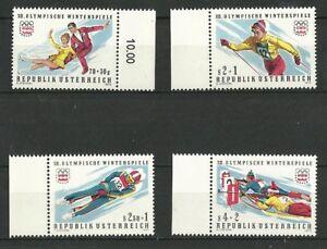 Österreich 1975: Olympische Winterspiele 1976, Innsbruck - Augsburg, Deutschland - Österreich 1975: Olympische Winterspiele 1976, Innsbruck - Augsburg, Deutschland