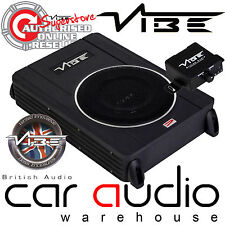 Vibe CVENC8-V4 8 Inch 240 Watts Active Slim Car Van Under Seat Sub Subwoofer